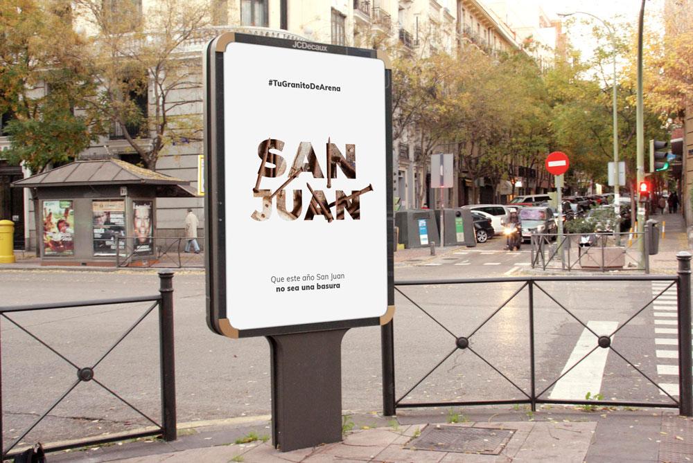 Campaña medioambiental de concienciación