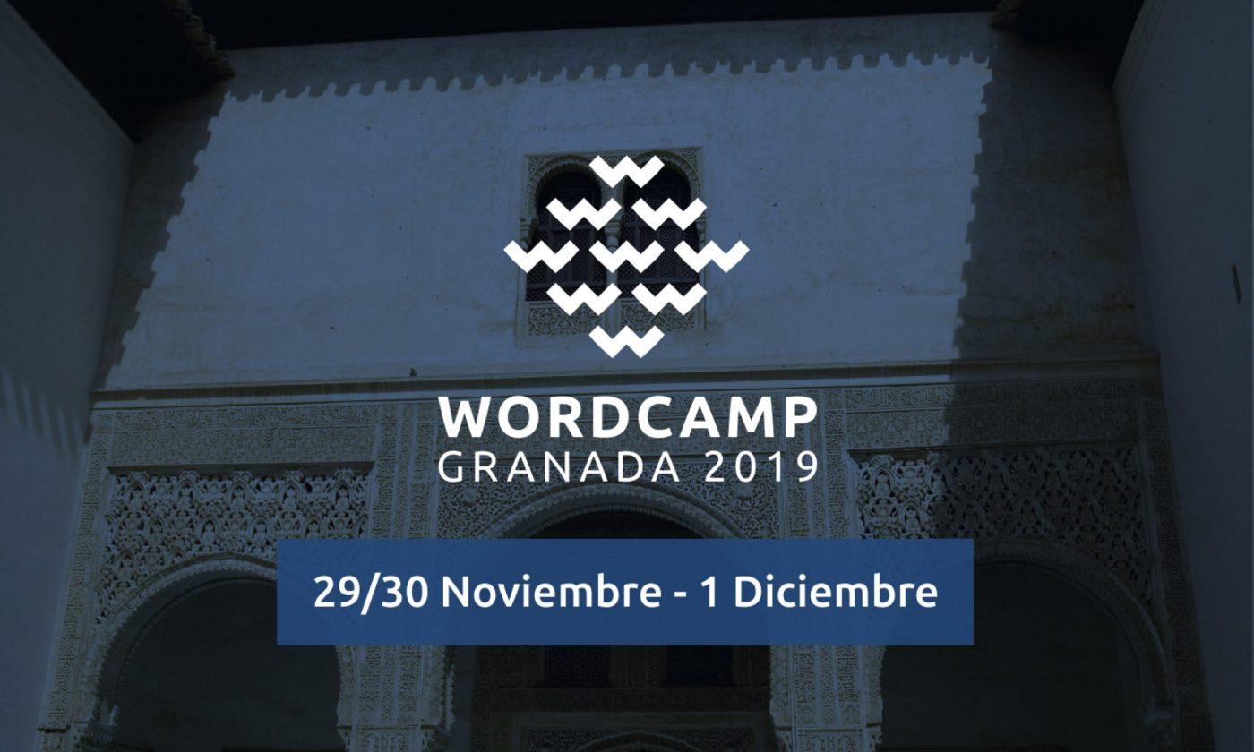 Poster WordCamp Granada 2019