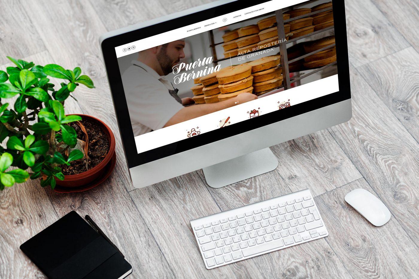 Mockup del Diseño web