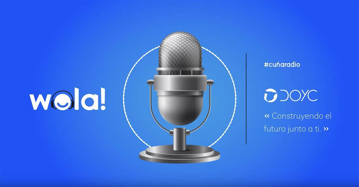 Publicidad para constructoras en radio