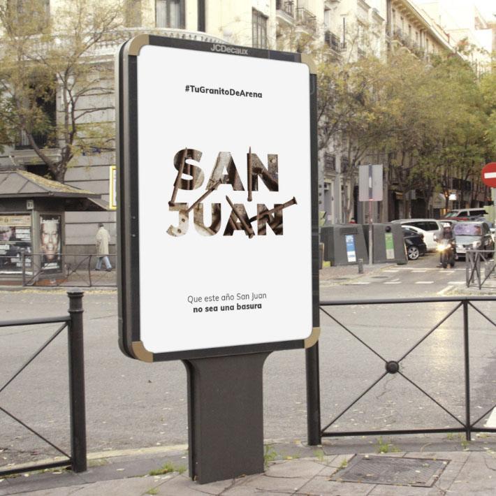 Publicidad ambiental Noche de San Juan