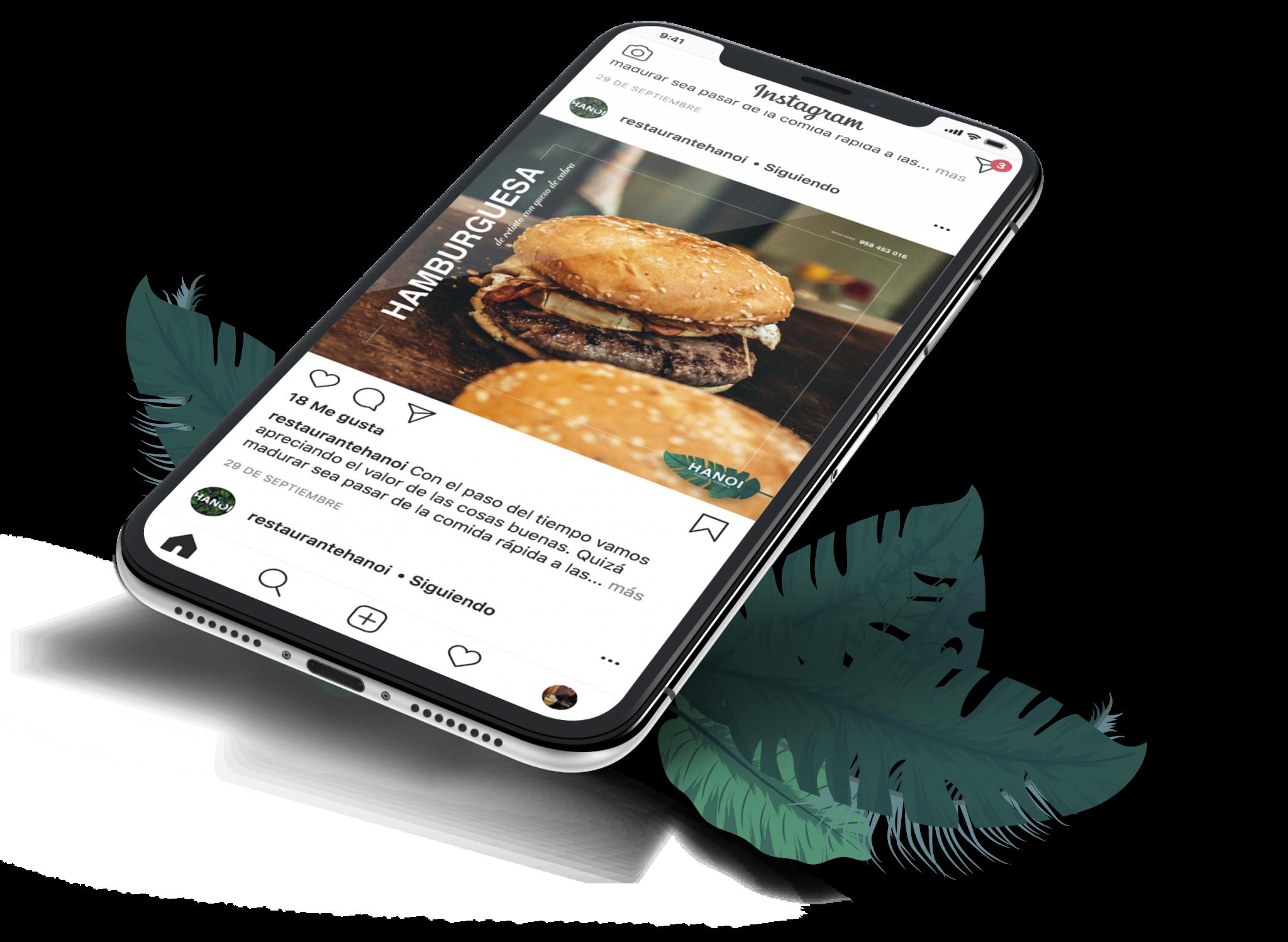 Redes y Marketing para un restaurante