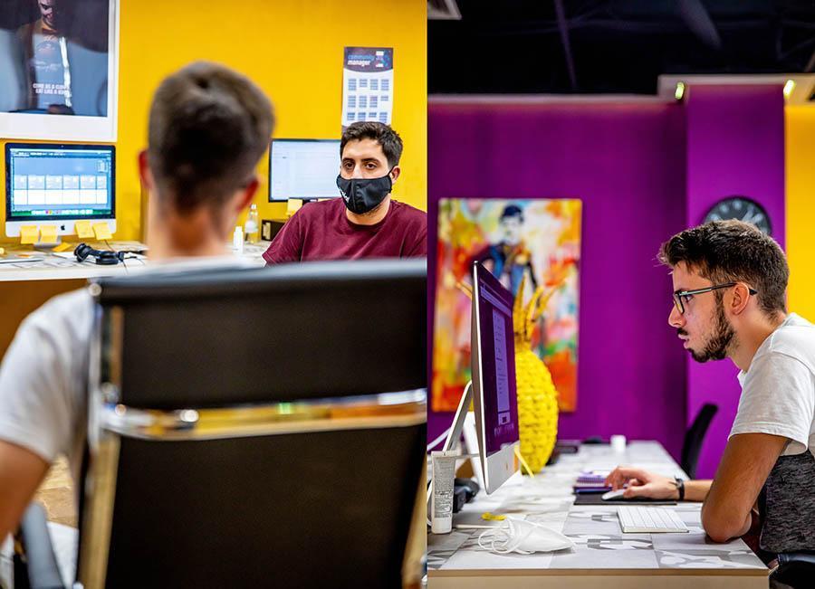 Trabajando en una Agencia creativa